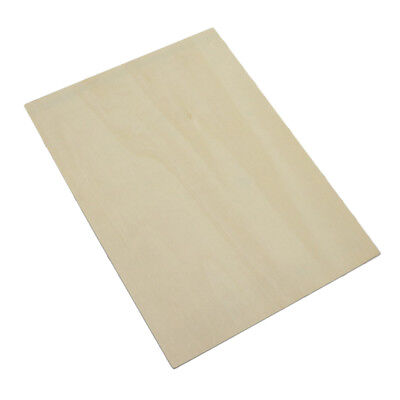 Plain Blank Boards Sheet Unfinished Wood for DIY Laser Cut Pyrography Craft