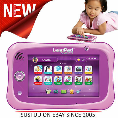 Sprung Frosch Leappad Ultimative Pink │ Kinder Tablet mit Wi-Fi Leapfrog 8gb Memory&