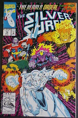 The Silver Surfer #74! The Herald Ordeal! 1992 Marvel Comics