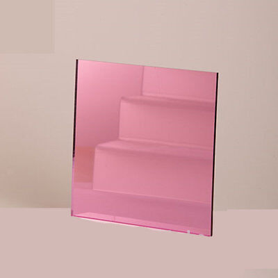 Rose gold mirror acrylic sheets A4 3mm thick