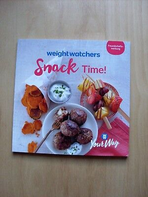 """Weight Watchers """" Snack Time""""  2018 Your Way neu"""