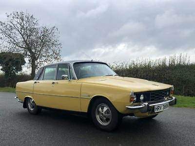 1975 Rover P6 3500 Manual 3.9 V8 5 Speed. Edlebrock Inlet & 4 Barrel Carburettor
