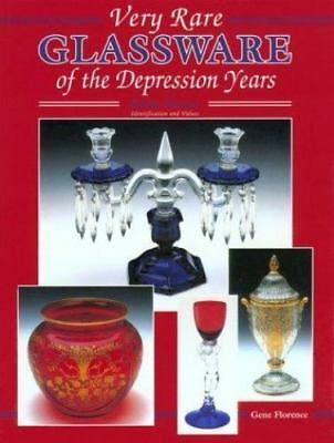 Very Rare Glassware of the Depression Years, Fifth Series, Identification and Va