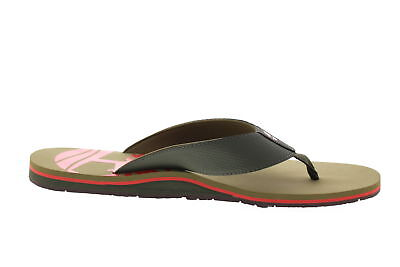 56fd48094dbc69 Timberland A1IGS Wild Dunes Mens Canvas Flip Flop Shoes Green TBL Size