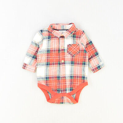 Camisa body color Rojo marca Next 3 Meses  518264