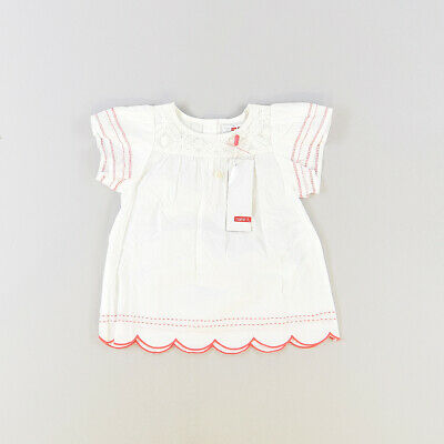 Blusa color Blanco marca Name it 6 Meses  518397