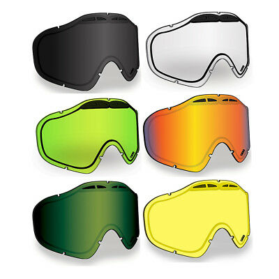 509 Sinister X5 Ignite Heated Anti-Fog Replacement Goggle Dual Lens Snowmobile