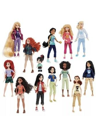 New Vanellope with Princesses from Ralph Breaks the Internet Doll Set MEGA