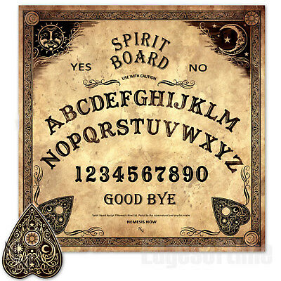 Traditional Spirit Ouija Board Wicca Pagan Gothic Occult Pagan Magic Halloween