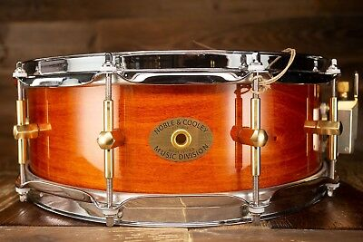 Noble & Cooley 14 X 5 SS Classic Solid Maple Snare Drum, Honey Maple Gloss