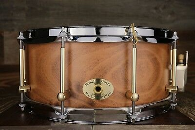 Noble & Cooley 14 X 5 SS Classic Solid Maple Snare Drum, Burnt Ale Matte
