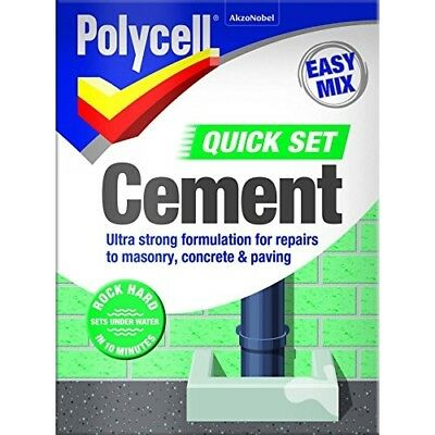 Polycell Quick Set Cement Polyfilla, 2 kg - Grey