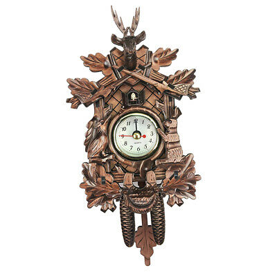 Decorative Collectibles Wooden Battery-operated Cuckoo Clock Home Décor L