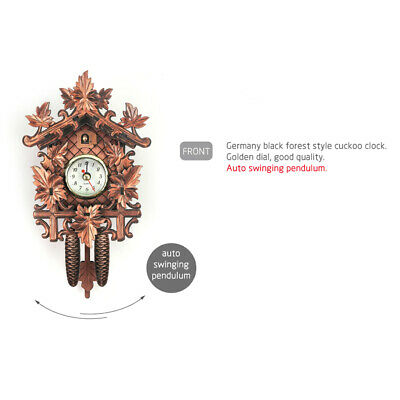 Decorative Collectibles Wooden Battery-operated Cuckoo Clock Home Décor M