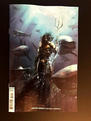 Justice League 11 2018  Francesco Mattina Movie Variant DC Comics NM+