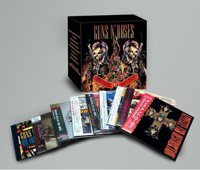 "GUNS N' ROSES "" 1987-2011 "" 9CD+2DVD Complete Box Set Japanese Limited ed - NEW!"