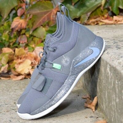purchase cheap 9ad4b 9ac46 NIKE PG 2.5 Fighter Jet BQ8452-007 Grey Green Paul George Mens Basketball  Shoes