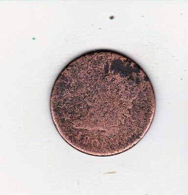 1808 Large Penny  Scarce Early Classic Head  Free Shipping