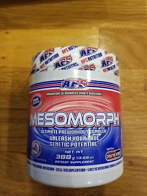 APS Mesomorph Ultimate ORIGINAL FORMULA Pre-workout FREE SHIPPING Grape