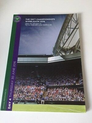 The 130th Championships 2016 Official Programme Day 4 - 30 June