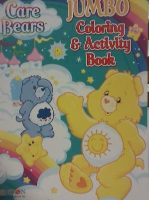 "Care Bears, ""Cloud Castle"", Jumbo Coloring & Activity Book, 2010, 8.5+, VF+ B&Gs"