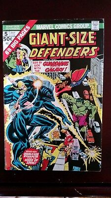 THE DEFENDERS GIANT - SIZE #5 FINE (3rd App. Guardians of the Galaxy)