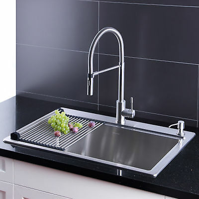 AFA Stainless 33-inch Sink and Semi Pro Faucet Combo [NO TAX]
