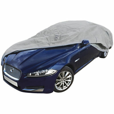WINTER HEAVY DUTY FULL CAR COVER COTTON LINED FOR FIAT 500 Hatchback 2008 On