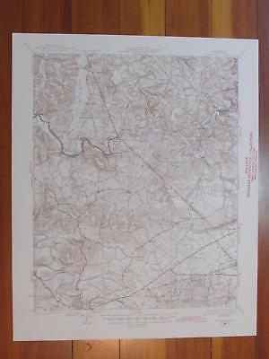 Brownsville Kentucky 1946 Original Vintage USGS Topo Map
