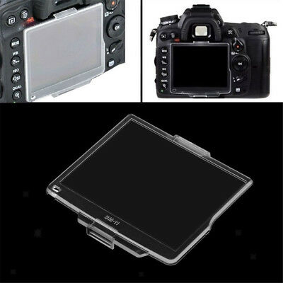 Clear BM-11 Hard Case LCD Monitor Cover Screen Protector for Nikon D7000