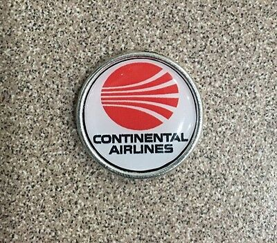 CONTINENTAL AIRLINES Airways 747 777 737 787 Logo Pin Badge Lapel