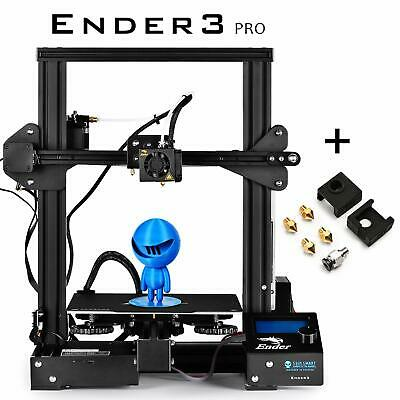 SainSmart x Creality3D Ender-3 PRO 3D Printer with Extra Free Upgrade Parts