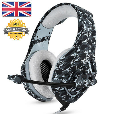 ONIKUMA K1 3.5mm Gaming Headsets with Mic Stereo Sound Noise Reduction Headphone
