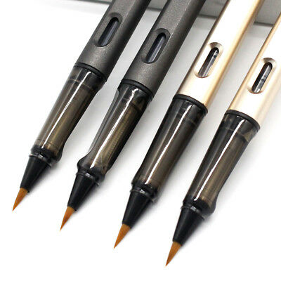 Ink Pen Water Brush Watercolor Arts Portable Pocket Brush Pen with free pen case