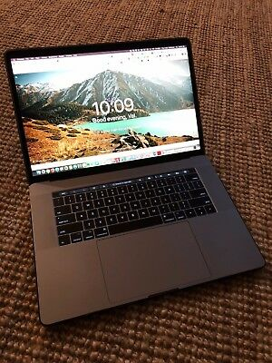 """Apple MacBook Pro 15"""" 2017 Model Laptop with Touch Bar 2.9Ghz 16GB RAM A7107"""