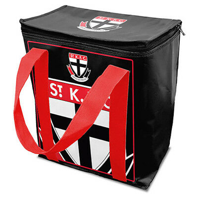 St Kilda Saints AFL Cooler Carry Bag Re-Usable Insulated Shopping Bag