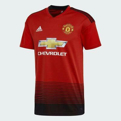 Manchester United 2018/19 Official Home Jersey Shirt- JUNIOR