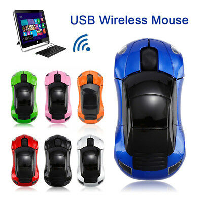 Wirless Mouse Car Wireless Gaming Mouse Optical Computer Mouse USB Mouse HOT!