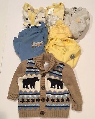 Gymboree Baby Boy Fall Winter Bundle Size 3-6 Months