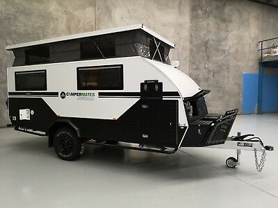 Brand New Campermates 15ft Hybrid Off Road Caravan Pop Top Camper Ensuite Bunks