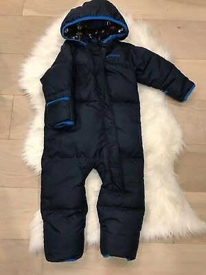 6ef8cb95a COLUMBIA BOY GIRL DOWN insulated Ski Snowboard Hooded Jacket 14 16 L ...