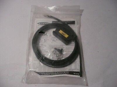 New Genuine Banner Pit46V Fiber Optic Cable Assembly 26034 With Cutter Pn 137792