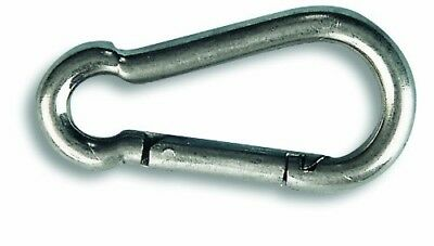 Chapuis POI6 Spring Hook Stainless Steel Maximum Load 166kg/Diameter 6&nbs