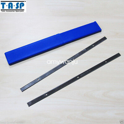 """Thickness 12-1/8""""  Planer blades for MacAllister COD305P,  HSS 308mm of 5Pair"""