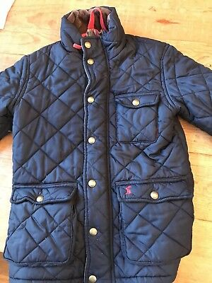 580b8d223 JOULES BOYS PADDED Coat Age 6 - EUR 15