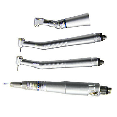 HOT 2×NSK High Speed Wrench Type Handpiece +Low Speed Latch Handpiece Kit 4Hole