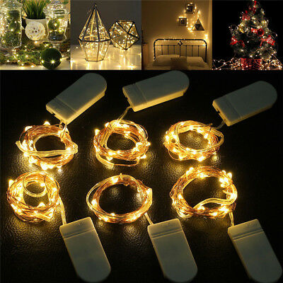 1m2m3m5m Led String Lights For Party Wedding Decoration Christmas