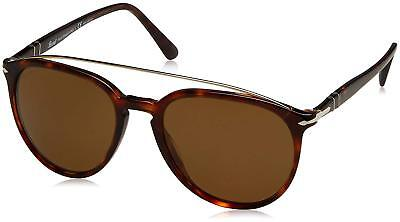 03ed891c66 Authentic Persol 3159S - 901557 Sunglasses Havana   Brown Polarized  NEW   55mm