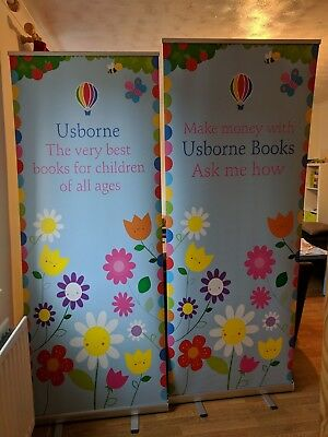 Usborne Books at Home Roller Banners - Perfect for Usborne Organisers
