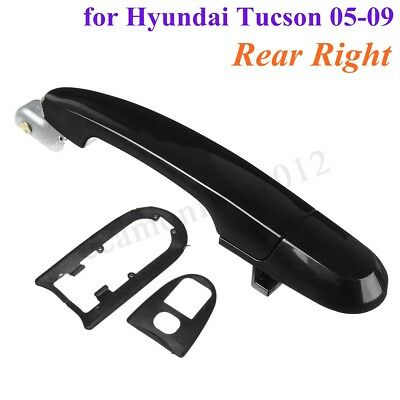 Outside Exterior Door Handle Rear RH Right Passenger Side for Hyundai Tucson